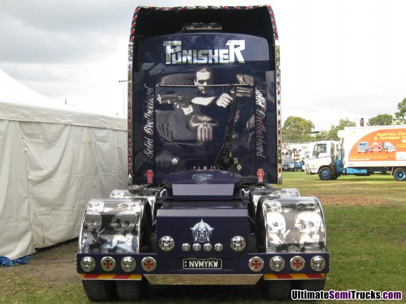 G Style Express Punisher Kenworth T900
