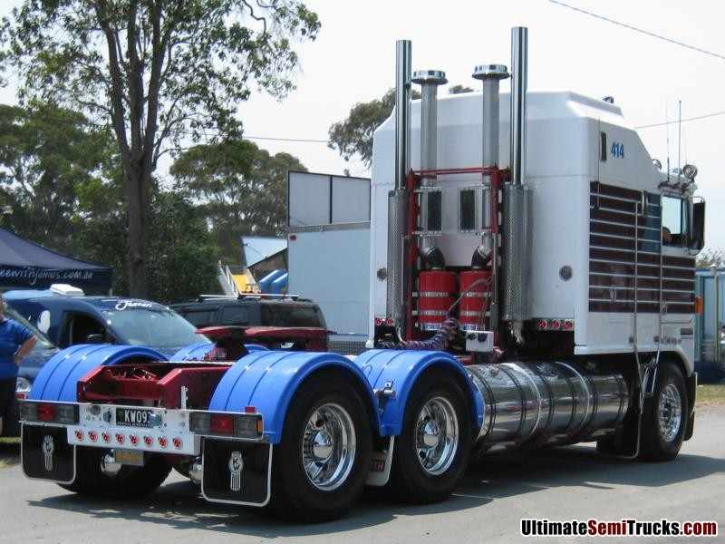 Trevor Smith's 1993 Limited Edition Big Cab Kenworth