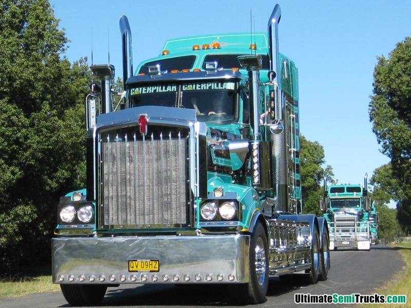 Bursle's Kenworth K108