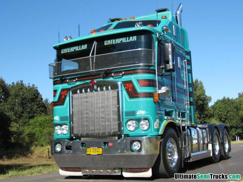 Bursle's Big Cab Kenworth K108
