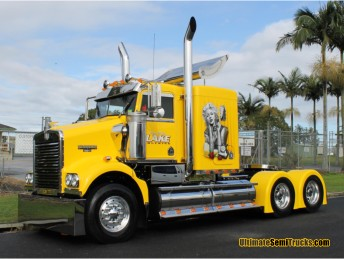 Tony & Tracey Lake Trucking Custom Kenworth SAR