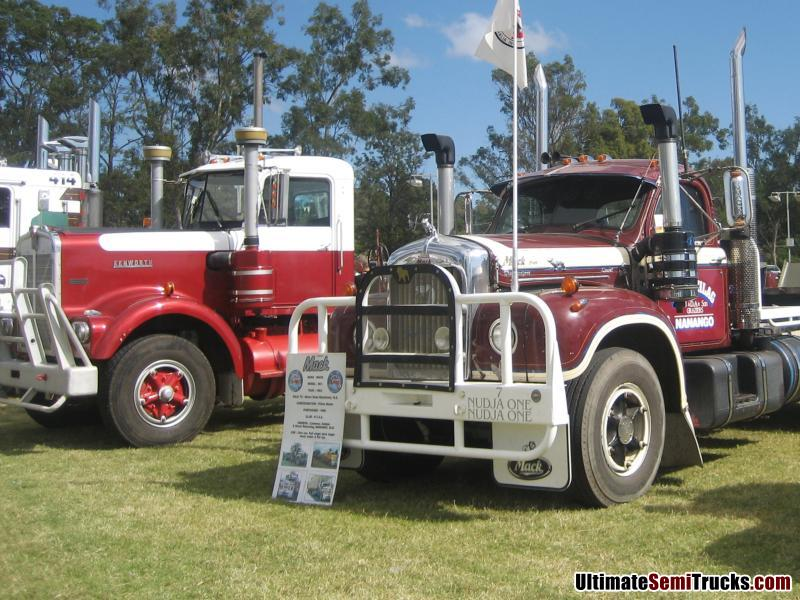 Classic Kenworth and Mack Trucks
