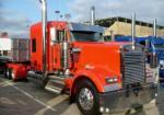 Chromed out Kenworth W900L