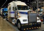 kenworth W900L with an integrated Bentz sleeper