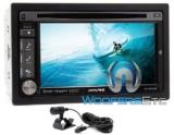 "Alpine IVE-W535HD 6.1"" Double Din In-Dash Touchscreen Receiver Stereo Radio With Bluetooth"