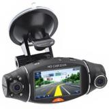 "BoomYours 2.7"" TFT Rotating Dual Camera Lens HD Black Box Recorder"