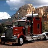Kenworth Truck Photo Print Poster