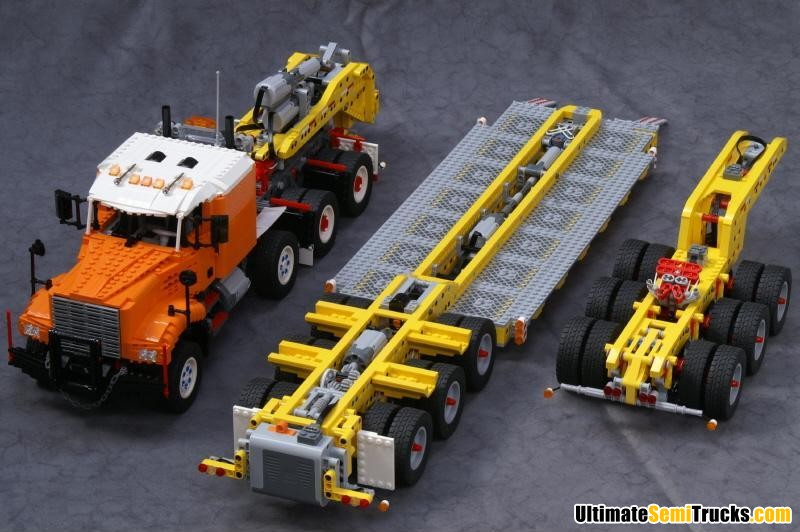 Ingmar Spijkhoven's Lego Heavy Haulage Float Model