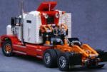 Ingmar Spijkhoven Lego Semi Truck with Winch
