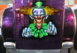 Evil Clown Evil Art by Rod Tickle