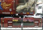 Airbrushed art L/H side of the RM Williams Longhorn Western Star
