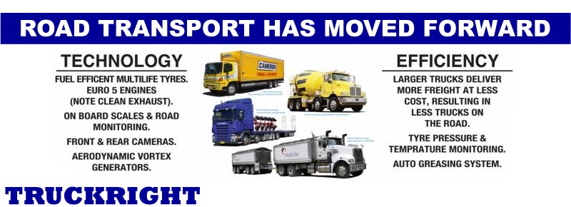 Road Transport Has Moved Forward