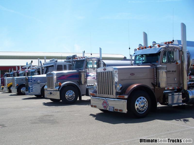 Trucks from the Big Rigs 4 Kids Truck Show