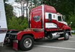 David Preneta's CH Mack with cut down wrecker body and tow hitch