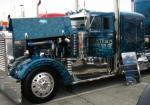 Western Distributing Classic Peterbilt with butterfly hood