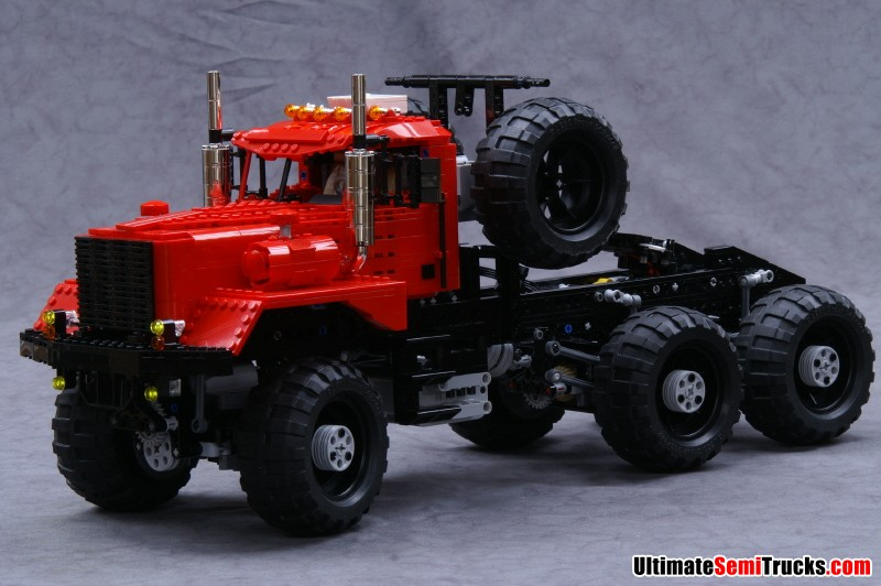 Semi Truck Oil : Ultimatesemitrucks lego kenworth oil field